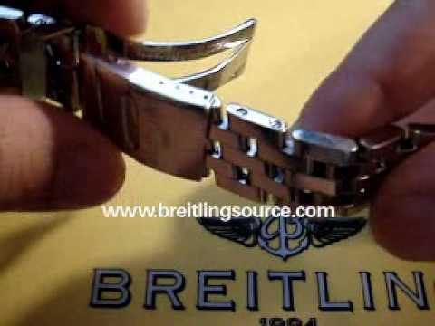 How to Resize a Breitling Watch Bracelet