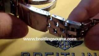 How to Resize a Breitling Watch Bracelet(, 2007-06-17T03:13:48.000Z)