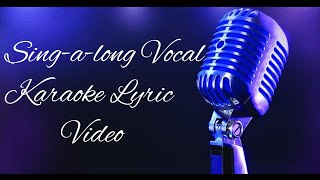Bob Seger - Till It Shines (Sing-a-long karaoke lyric video)
