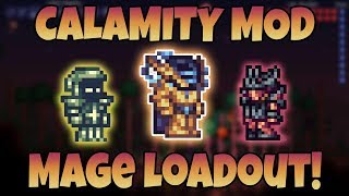 The Best Calamity Mage Class Loadouts! (Guide For Revengeance, Death, and Expert Mode)