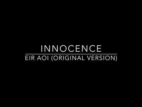 Eir Aoi - Innocence  ( Original Version Piano Karaoke Insetrumental By PFS )