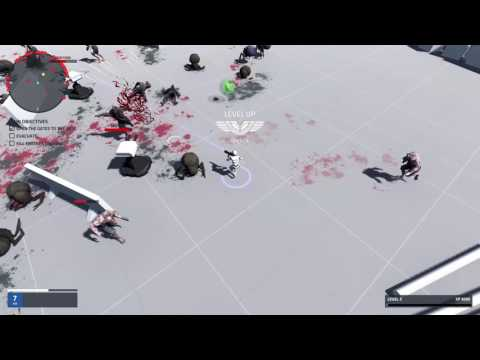 Unity Top Down Test Zombie Shooter by Deniz Traka