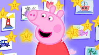 Peppa Pig Official Episodes | Peppa Pig's Playgroup Star