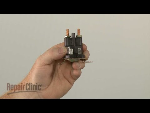 how to replace lawn mower solenoids wiring diagram craftsman riding lawn mower starter solenoid 532192507