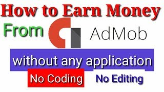 admob se paise kaise kamaye || How to earn money from admob without VPN #Tech4Shani
