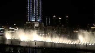 The Dubai Fountain at The Dubai Mall, Burj Khalifa Lake