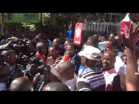 Dr Mwachonda Chibanzi  speech 3.2.17 after suspended suspended sentence kmpdu