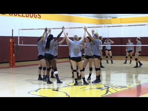 Volleyball First Practice 2016