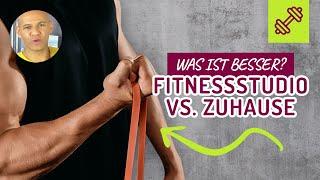 🏋🏽♀️ Fitnessstudio vs. Zuhause trainieren ‼️ Was ist BESSER 💪🏽❓
