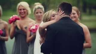 Emotional Southern Hills Country Club Tulsa wedding video {groom cries} thumbnail