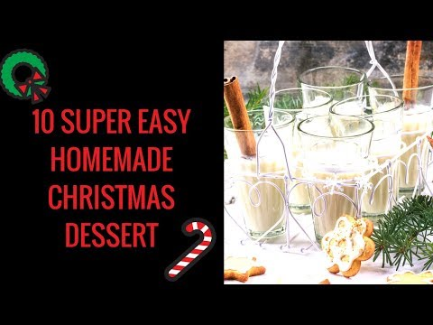 10 Easy Christmas Desserts Recipes - Quick And Easy Christmas Dessert Recipes