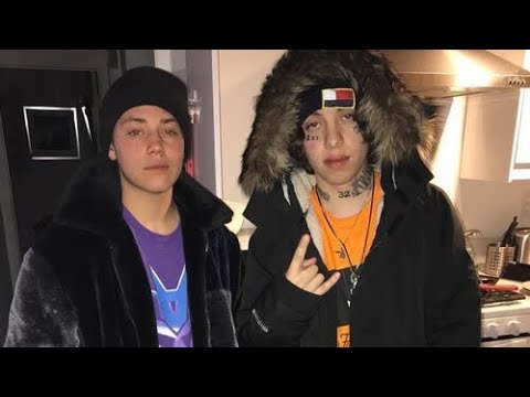 Ethan Cutkosky and Lil Xan
