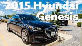 2015 Hyundai Genesis Test Drive смотреть