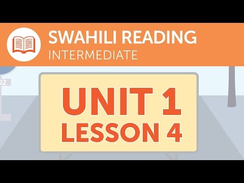Intermediate Swahili Reading – Reading Swahili Job Postings