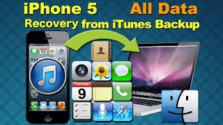 Dr Fone iPhone Recovery: Recover deleted pictures, restore contacts/data from iPhone 5 on Mac?