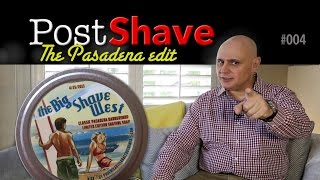 Post Shave: Pasadena style, the order of things, decapitation and making a point.