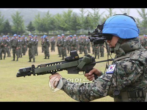 Republic of Korea ROK Army in Lebanon as UN troops