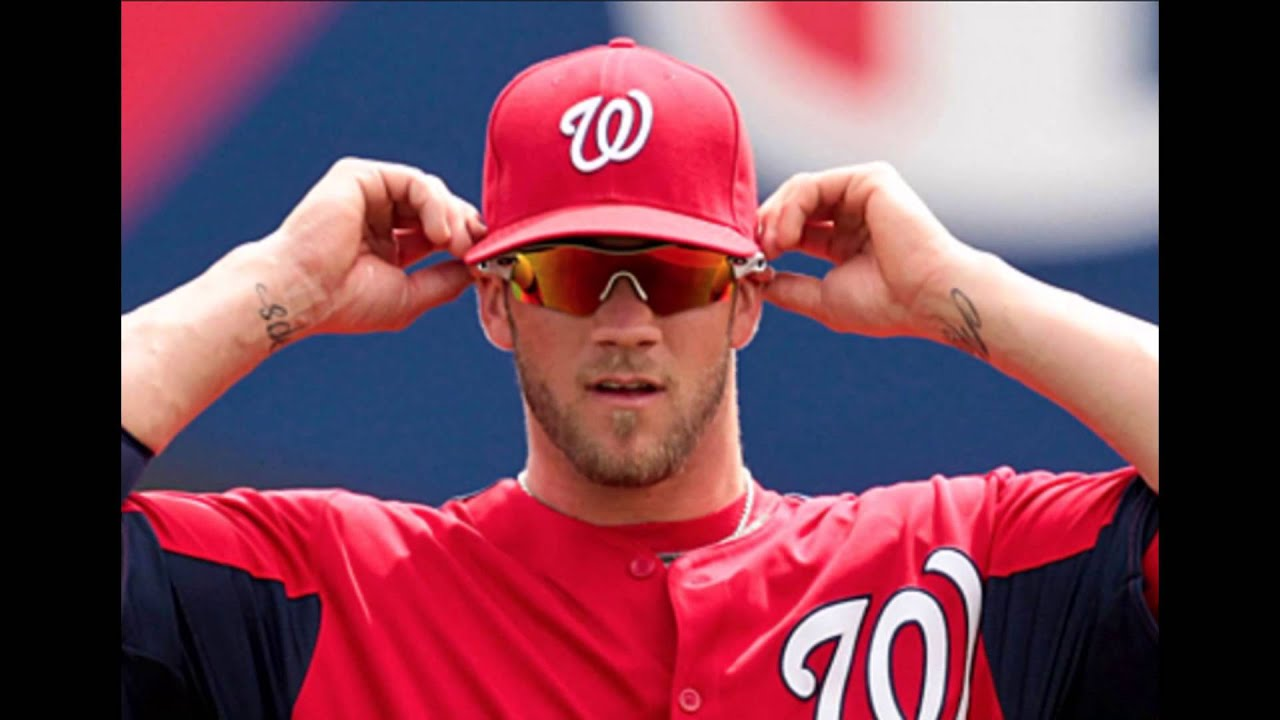 Bryce Harper Hair Flip 2014 Or 2015 Kinda