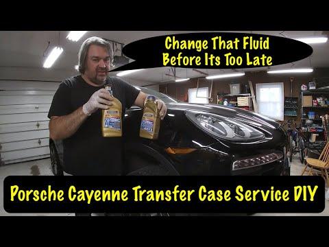 Porsche Cayenne 958 92A Transfer Case FIX, Fluid Service DIY Part 2