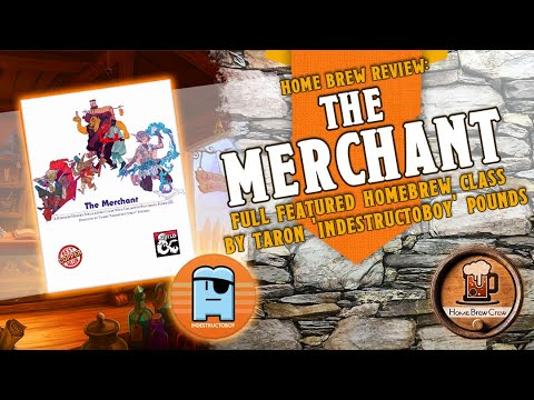 The Merchant Class - Dungeons & Dragons 5e Home Brew Class by Indestructoboy