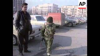 Chechnya - Grozny Exodus & Call To Defend Palace