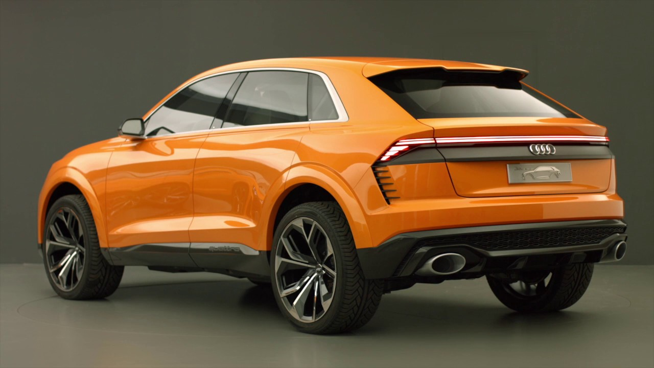 Audi Suv Models >> Audi Q8 sport concept Geneva 2017 auto salon New off road 4x4 SUV - YouTube