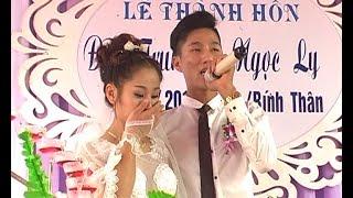 Chú rể hát Làm Vợ Anh Nhé hay và cảm động khiến cô dâu rơi nước mắt