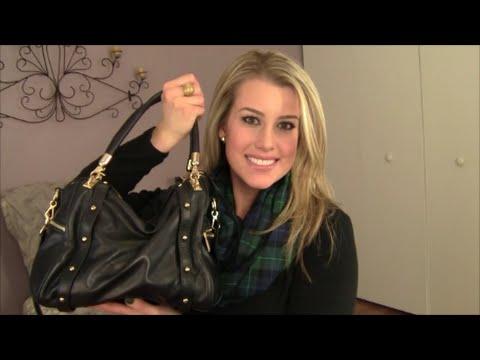 c9fc75f532ca What s in My Bag ! Rebecca Minkoff Cupid Bag - YouTube