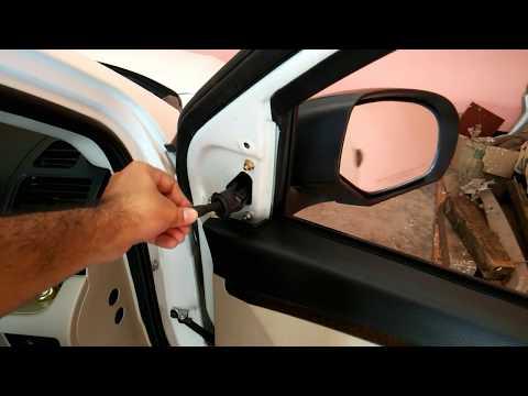How to Replace rear view mirror of MARUTI SUZUKI SWIFT DZIRE