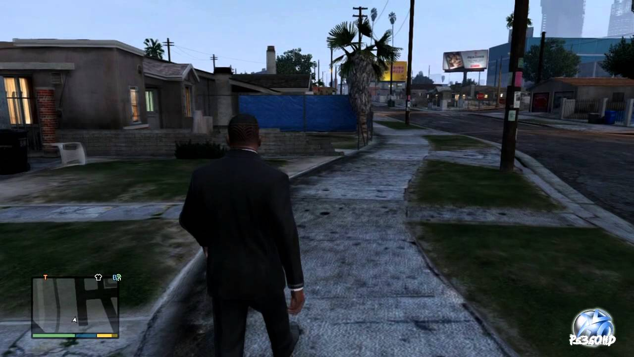 Trailers For Less >> Grand Theft Auto V - Grove Street San Andreas CJ's Neighborhood - YouTube
