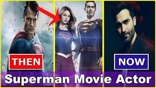 Superman All Movies Actor Evolution Superman Cast Then and Now   Best 11 Superman Actors