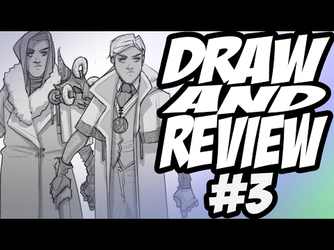 Draw And Review #3 - Clip Studio Paint (Manga Studio) Review