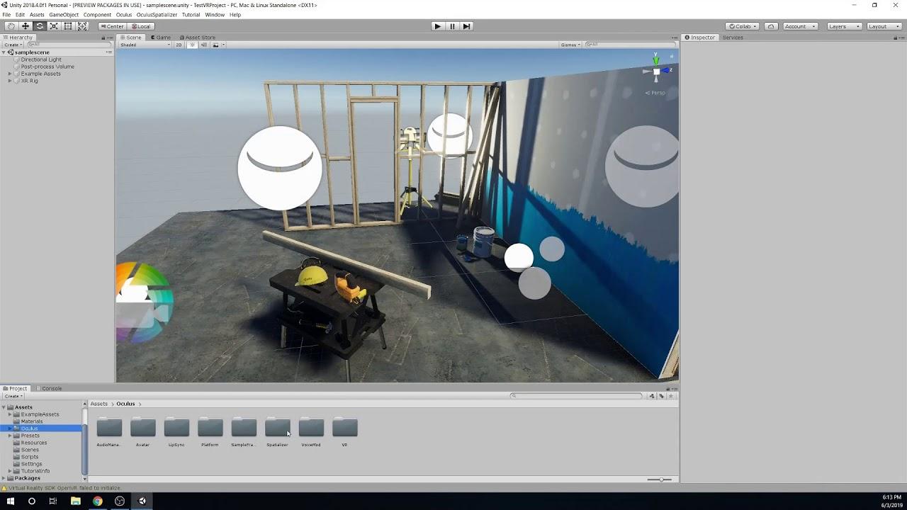 VR Game Development - Unity - Oculus Quest - Part 0