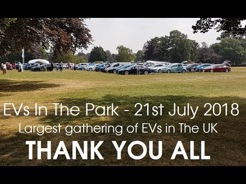 EVs In The Park 2018
