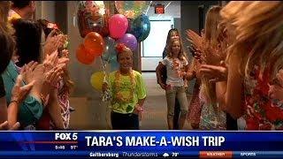 Fairfax girl battling leukemia getting wish to swim with dolphins