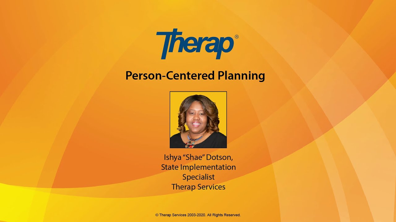 Video: Person-Centered Planning