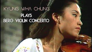 Kyung Wha Chung plays Berg Violin Concerto (1974)
