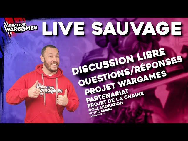 LIVE SAUVAGE - Discussion (en roue) libre et sans filtre...cette fois ci c'est vraimentt la dernière