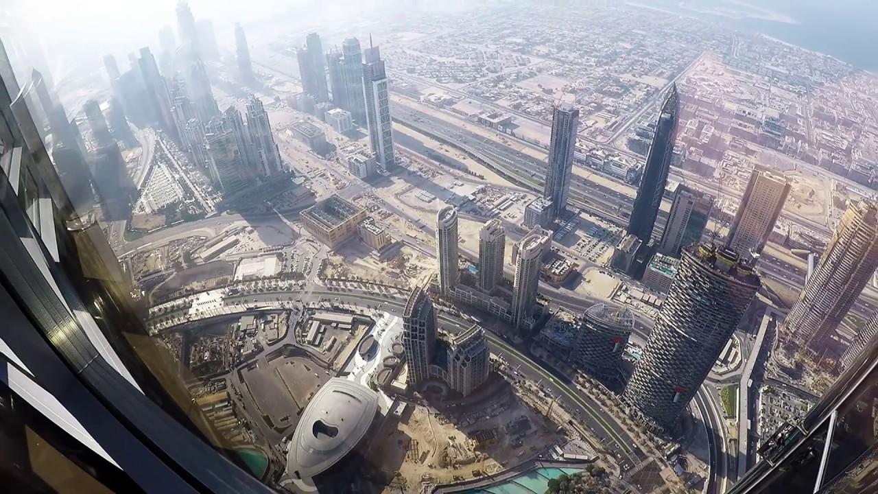 Burj Khalifa 125th floor At the Top