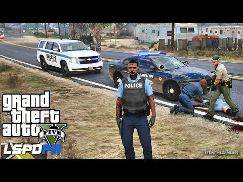 LSPDFR #433 - SHERIFF TAHOE PATROL (GTA 5 REAL LIFE POLICE MOD)
