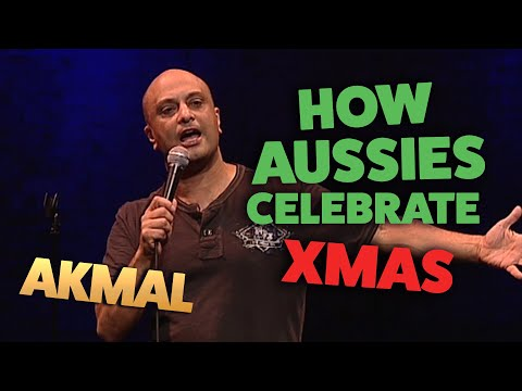 Akmal - How Aussies celebrate Christmas