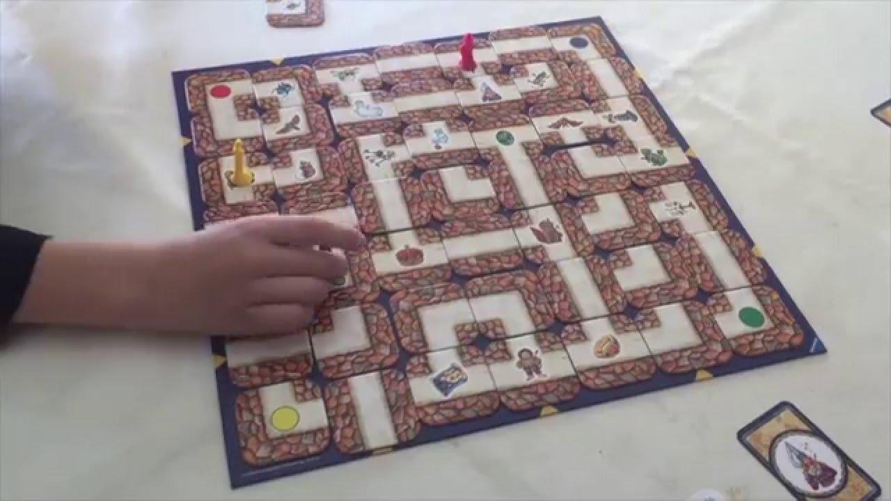 Juego de mesa laberinto youtube for Formula d juego de mesa