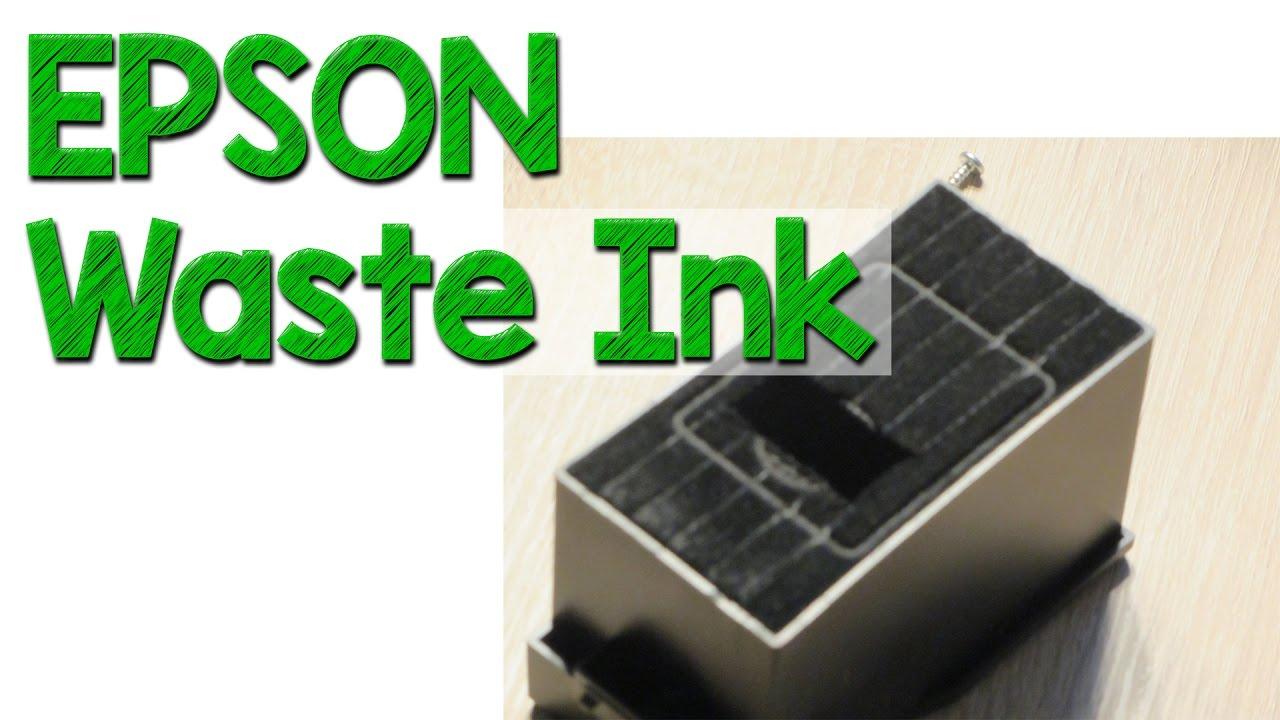 Epson Resttintentank (Waste Ink) austauschen & Resetten