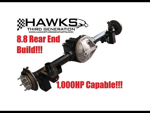 HAWKS Third Generation F-Body 8.8 Rear End Build Process