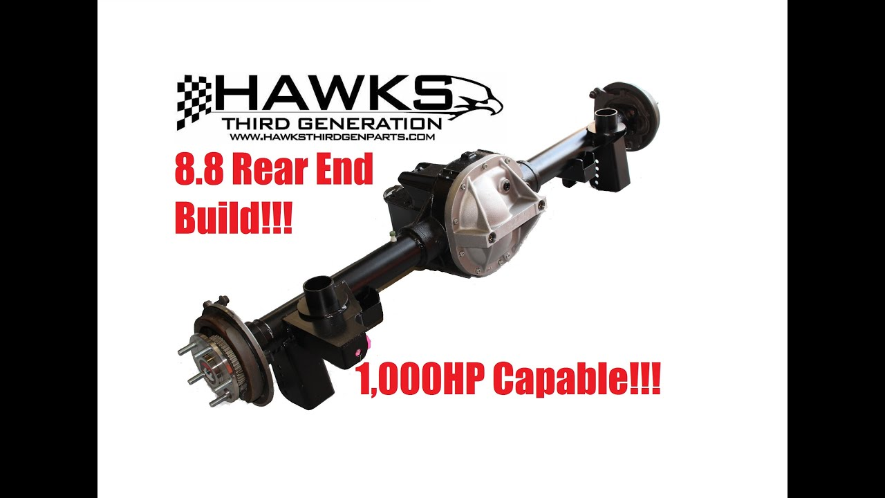 Hawks Custom 82-2002 Camaro / Firebird 8 8 Rear End Assembly