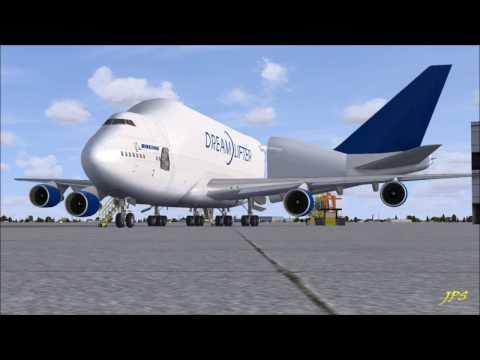 FSX - The Boeing 747 Dreamlifter N780BA