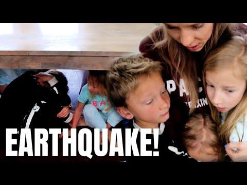 Earthquake while in quarantine!