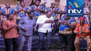 Anne Waiguru wedding: Uhuru, Raila dance
