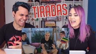 REACT TOP 10 MELHORES TIRADAS DOS YOUTUBERS 2 (Turn Down For What TV)