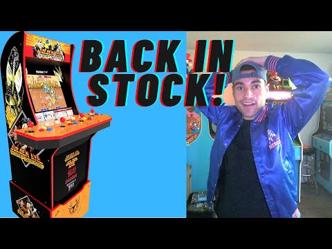 ARCADE1UP GOLDEN AXE CABINET BACK IN STOCK 2021 from Brick Rod